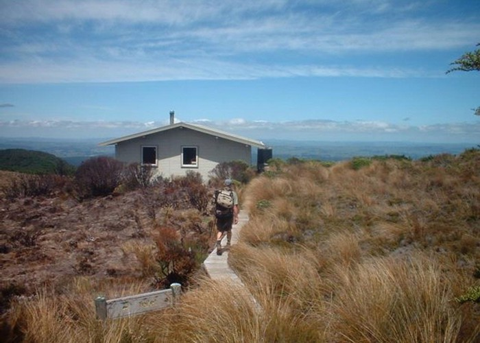 Mangaehuehu Hut - Round The Mountain (Ruapehu)