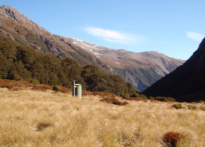 Edwards Hut Toilet