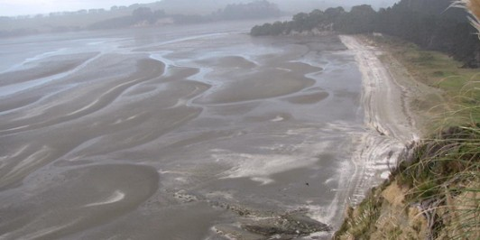 low tide at dacre´s
