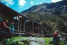 Old Routeburn Falls Hut 1989