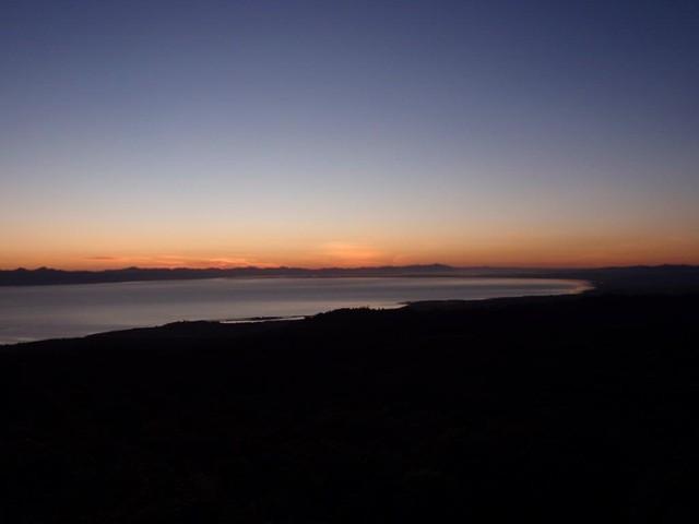 Sunrise at Adams Lookout