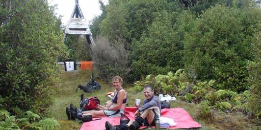 Summit of Mt Hikurangi, the one near Galatea
