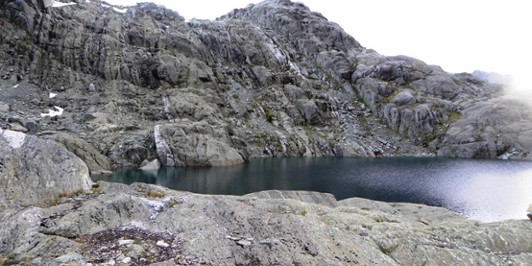A fresh look at the descent  to Lake Nerine.
