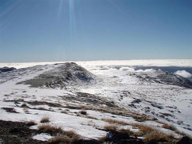 Kaweka above the clouds