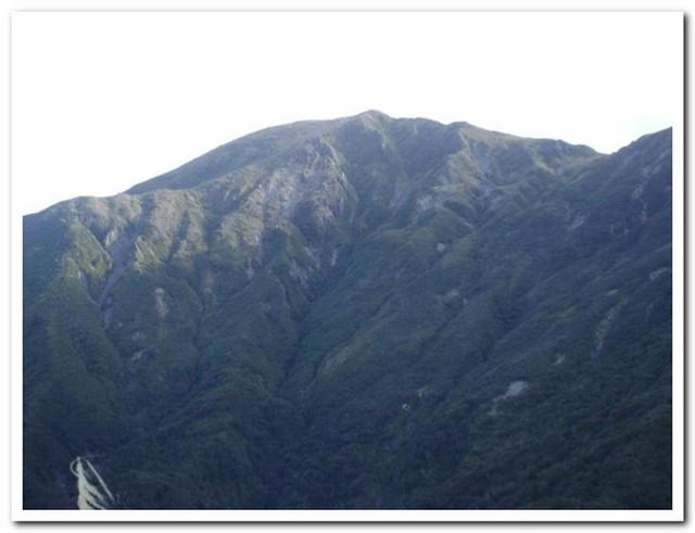 Another view of Haukura Ridge.