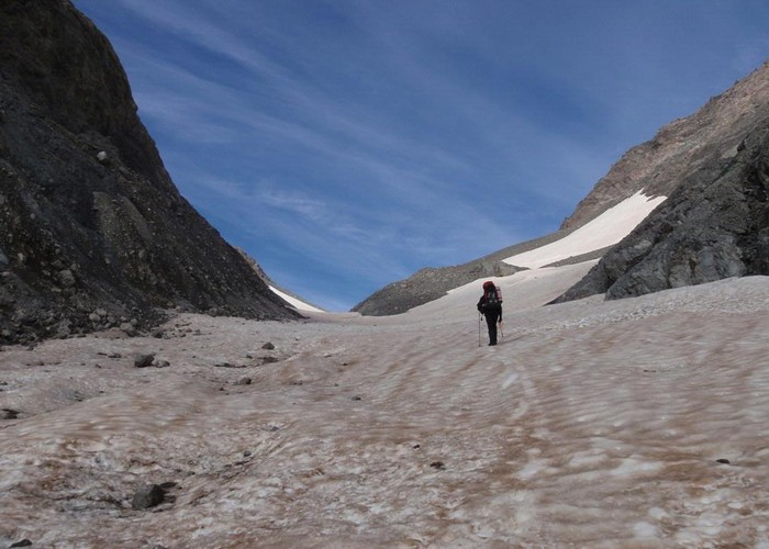 Ascending Whitehorn Snowfield