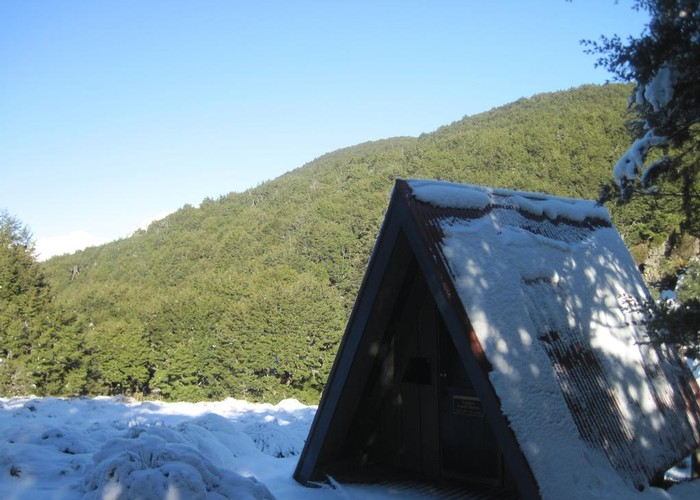 Lagoon Saddle Shelter