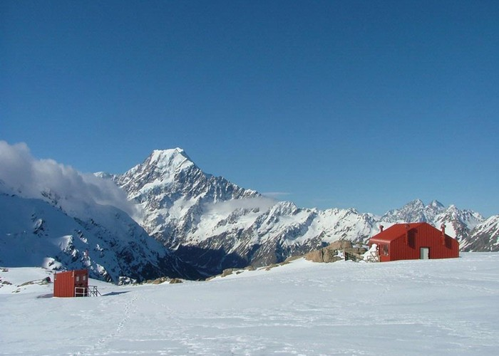 Mueller Hut and Aoraki/Mt Cook