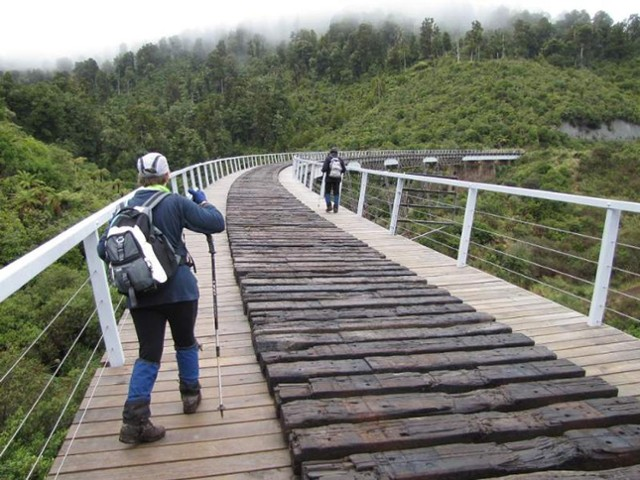 Crossing Hapuawhenua Viaduct