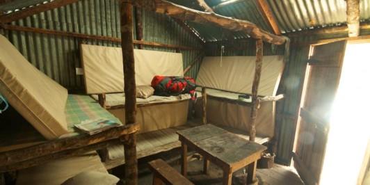 Bealey Spur Hut - Interior