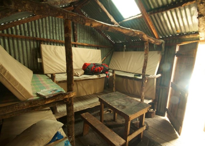 Bealey Spur Hut - Interior