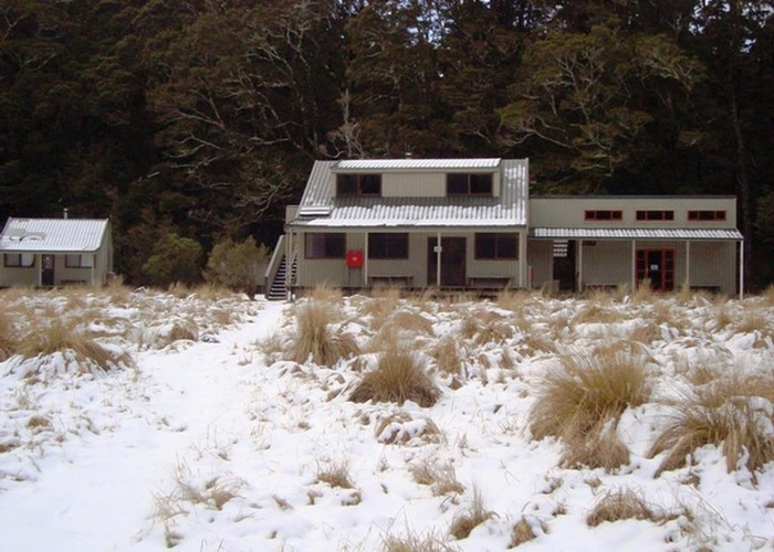 Winter at Iris Burn Hut
