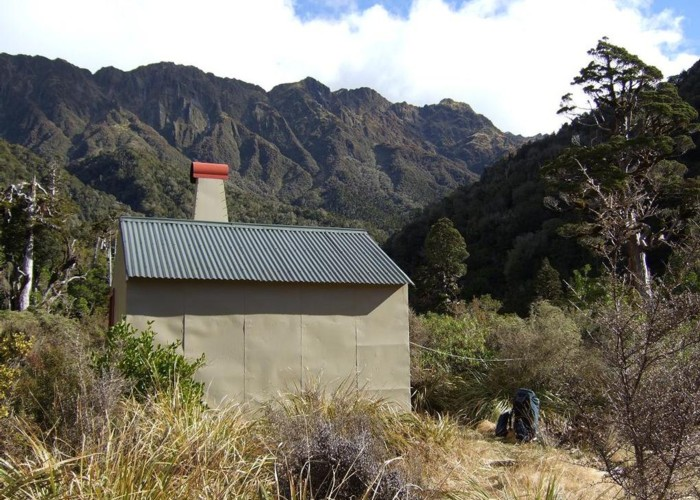 Griffin Creek hut  August 2010