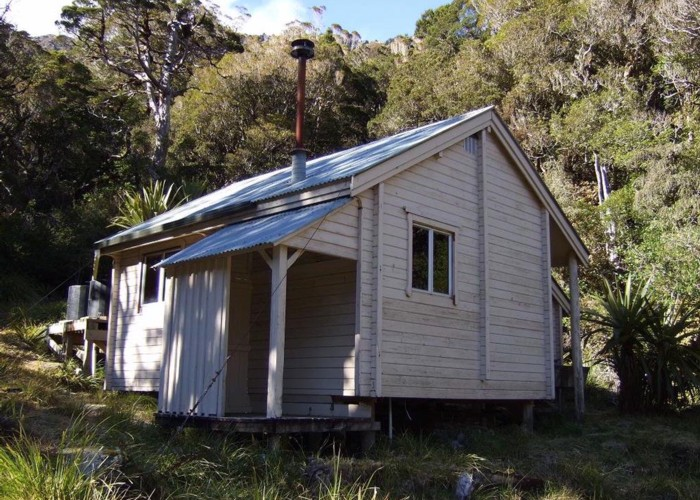 Camp Creek hut  Sept 2010