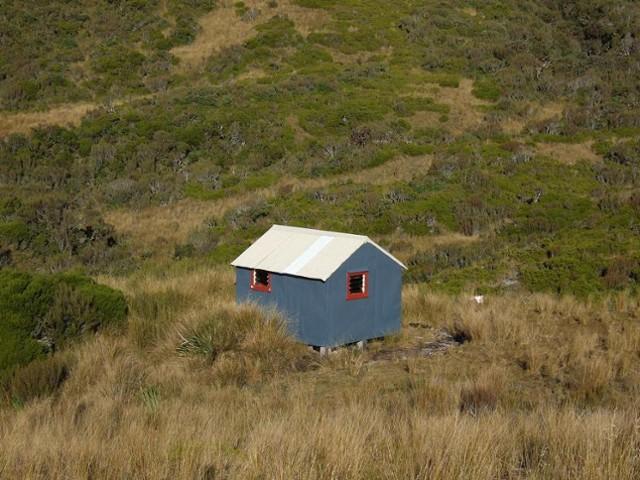Yeats Ridge hut  April 2008