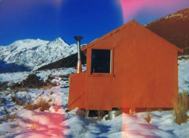 Dickie Spur hut  July 1975
