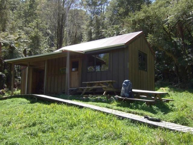 Bell Town hut  Oct 2010