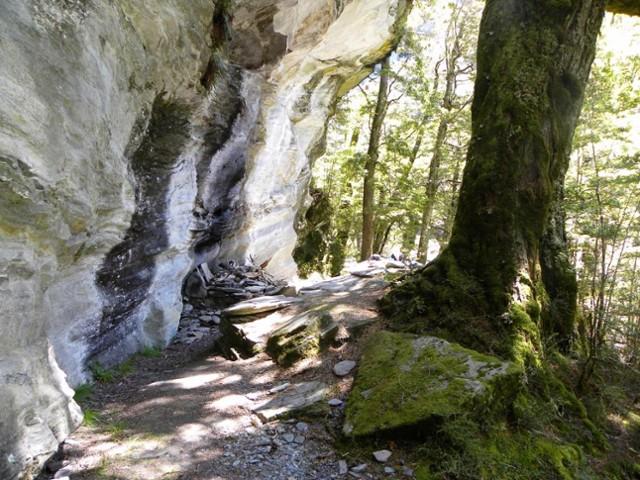 Rock of Ages bivvy - Mt.Aspiring Flats