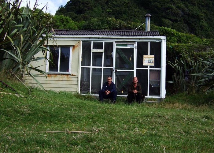 Gorge River hut  March 2008