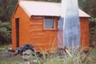 Rapid Creek hut May 1975
