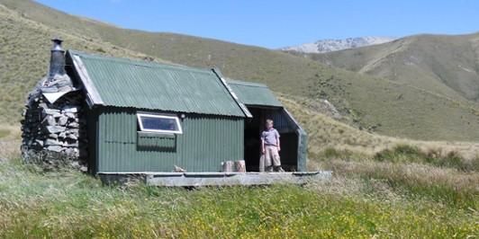 Spur Hut, North Opuha Conservation Area