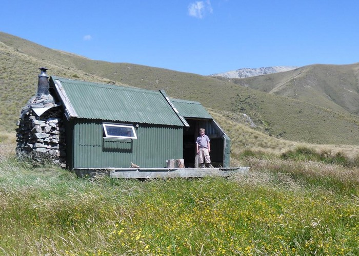 Spur Hut, North Opuha Conservation Area