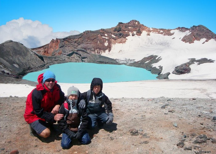 Crater Lake - Mount Ruapehu