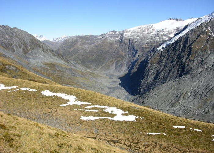 Dart Valley from Cascade Saddle