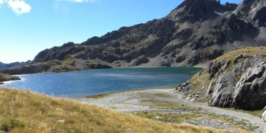 Fohn lake - Mt.Aspiring NP NZ