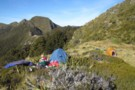 Camping by the Tarn on the Matiri Wangapeka Ridge